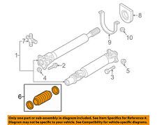 NISSAN OEM 16-18 Titan XD Drive Shaft-Front-Boot Kit 372267S225