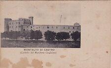 # MONTALTO DI CASTRO: CASTELLO DEL MARCHESE GUGLIELMI