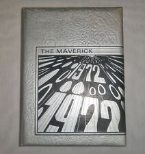 Vintage THE MAVERICK 1972 Eastland Texas Yearbook High School Annual