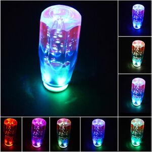 15CM Universal Crystal Bubble LED LIGHT Shift Knob Universal Shifter Gear Parts