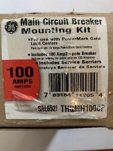 NEW!! GE PowerMark Gold Load Center 100 Amp Double-Pole Main Breaker Kit