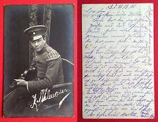 Foto AK 1. WK 1918 Militär Musiker Geiger K. Uhlmann Typen   ( 6715