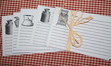 RECIPE CARDS Vintage Kitchen Baking Images Assortment SET OF 23