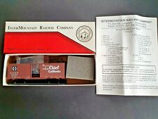 "INTERMOUNTAIN RAILWAY Co. HO 10' 6"" High AAR Boxcar A.T.S.F. SUPER CHIEF #142691"
