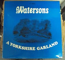 WATERSONS A Yorkshire Garland LP OOP mid-60's folk UK import Topic