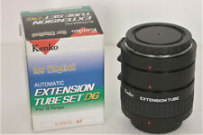 Kenko Automatic Extension Tube Set fotocamera Nikon D n.3 tubi varie misure