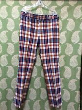 mens vintage plaid pants