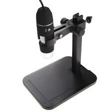 2MP USB 1000X 8 LED Digital Microscope Endoscope Magnifier Camera+Lift Stand TL