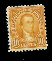 US 1926  Sc# 642 10 c  James Monroe  Mint NH  - Crisp Color -