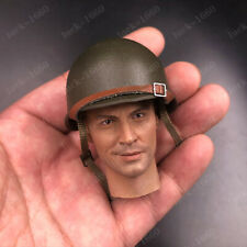 "Hat WWII US Soldier Metal Helmet Model Cap for 12"" Scene Action Figure 1/6 Scale"