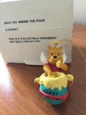 Grolier Disney Christmas Ornament - 26231 210 - Winnie The Pooh - Boxed