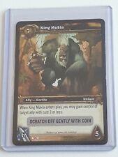 King Mukla (Banana Charm) - Silver Stripe Loot Card - World of Warcraft WoW TCG