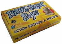 Backstreet Boys Action Stickers & Tattoos Box 50 Packs DS