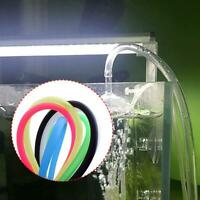 Aquarium 5M/65.6ft Flexible Luftpumpe Weichplastik Aquarium Sauerstoffschlauch