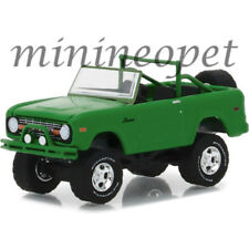 GREENLIGHT 29942 BFGOODRICH VINTAGE AD CARS 1971 FORD BRONCO 1/64 GREEN