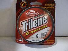 Berkley Trilene XL 6 lb 330 yards clear  NIP