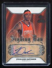 2007-08 SP Rookie Threads Signing Day Autograph #SD-DA Jermareo Davidson RC Auto