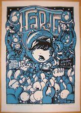 2005 Hard Fi - Nottingham Silkscreen Concert Poster s/n by Drew Millward