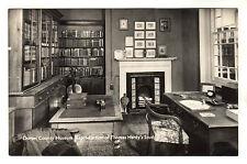 Thomas Hardy Study - Dorest Museum Real Photo Postcard c1960s