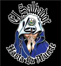 EL SALVADOR CAR DECAL STICKER  HASTA LA MUERTE  #217ES