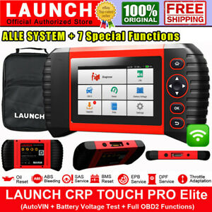 LAUNCH X431 TOUCH PRO Elite Car Diagnostic Tool OBD2 Scanner ALL SYSTEM as MK808