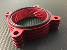 RED Throttle Body Spacer for 2013 - 2016 Hyundai GENESIS COUPE 3.8l v6