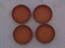 New listing Vintage Lot of 4 Ellinger's Agatized Wood Bowls
