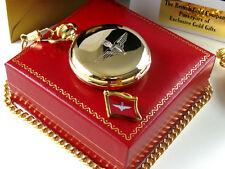PARAS Parachute Regiment Pocket Watch Lapel Pin Badge Crested Badge Luxury Para