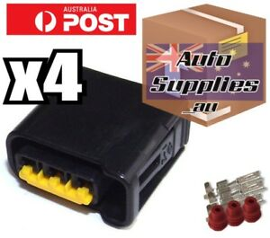 4 pack Ignition Coil Connector Plugs for Subaru Impreza WRX Legacy Forester EJ
