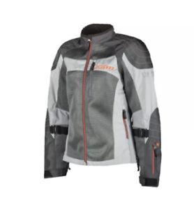 KLIM Avalon Motorcycle Jacket Women Medium Light Gray
