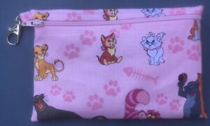 Disney'sCats , small handmade zippered bag by studioyj