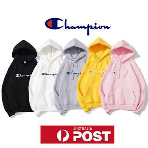 2021 Champion Hoodie Printed Sweatshirt Men's Women's Sports Sweater Pullover