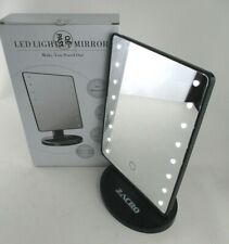 NEW - LED Light Up Swivel Make Up / Dressing Table Mirror