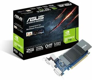 ASUS GT710-SL-2GD5 GeForce GT 710 2GB GDDR5 great value graphics with passive