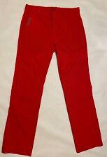 Nike Golf Tour Performance Dri-Fit Straight Leg Pants - Red 34x34