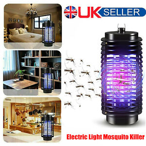 Electric Insect Mosquito Fly Killer Bug Zapper UV Indoor Pest Catcher Trap Lamp
