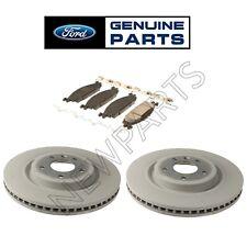 For Ford Explorer Taurus Flex MKT 2 Front Brake Rotors & Brake Pad Set KIT