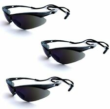 Jackson Safety V30 25688 Nemesis Safety Glasses 3000356 (3 Pair) (Black Frame wi