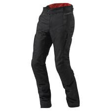 Pantaloni neri con imbottitura rimovibile per motociclista taglia L