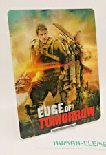 EDGE OF TOMORROW - 3D LENTICULAR Flip Magnet Cover TO FIT bluray steelbook