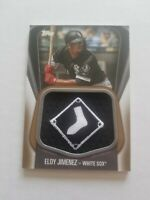 2020 Topps Eloy Jimenez Jumbo Jersey Sleeve Patch #JJSP-EJ gold 46/50