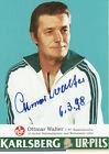 Original Autogramm Ottmar Walter 1998 Mittelstürmer WM Finale 1954 Dt Meister