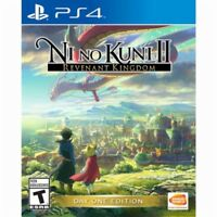 Ni no Kuni II 2: Revenant Kingdom Day One Edition (PlayStation 4 PS4) Brand New