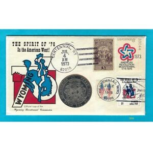 The Spirit of '76 - Centennial, WY - Medal PNCover