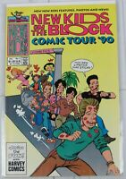 New Kids on the Block: Comic Tour #2 1990 Harvey Comics