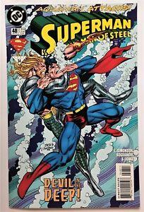 Superman: The Man of Steel #48 (Sep 1995, DC) NM