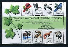 US #1757 a-h CAPEX Souvenir Sheet of 8 stamps Wildlife MNH