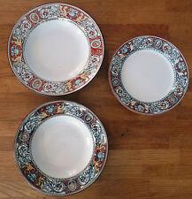 Minton M&Co Florentine Pattern Part Set of 4 Bowls & 2 Plates