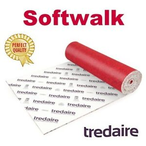 cheap price TREDAIRE SOFTWALK 9mm carpet underlay FREE DELIVERY most areas