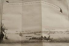 GRAVURE AFRIQUE COTE DEPUIS MINA AU MAURE GHANA GUINEE 1747